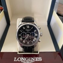 Longines Master Collection Steel 44mm Black Roman numerals United States of America, New Jersey, Voorhees