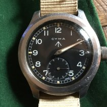 Cyma Steel 38mm Manual winding P21095 pre-owned United States of America, Kentucky, Louisville