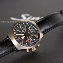 Sinn 157 Titanium 40mm Black No numerals