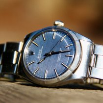 Rolex Oyster Perpetual 34 Steel 34mm Blue No numerals United States of America, Washington, Kirkland