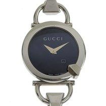 Gucci Ατσάλι 35mm Χαλαζίας 122 5 μεταχειρισμένο