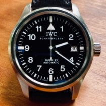 IWC Pilot Mark Steel 38mm Black Arabic numerals United States of America, Massachusetts, Amherst