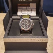 Hamilton Jazzmaster Auto Chrono Acier 46mm France, EVENOS