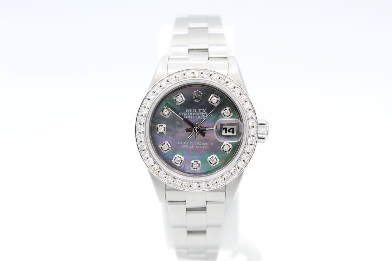 Rolex Oyster Perpetual Lady Date 79160 2002 pre-owned