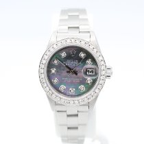 Rolex Oyster Perpetual Lady Date Steel 26mm Purple United States of America, New York, New York