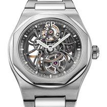 Girard Perregaux Laureato Steel 42mm Transparent No numerals United States of America, New York, New York