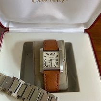 Cartier Tank Française Steel 28mm White Roman numerals United States of America, New Jersey, Martinsville