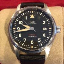 IWC Pilot Steel 39mm Black Arabic numerals