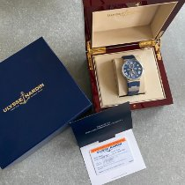 Ulysse Nardin Marine Chronometer 43mm Steel 43mm Blue Roman numerals United States of America, Texas, Flower Mound