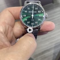 Meistersinger N° 02 Steel 43mm Green
