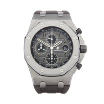 Audemars Piguet Royal Oak Offshore Chronograph occasion 42mm Gris Chronographe Caoutchouc