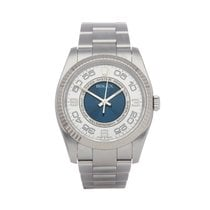 Rolex Oyster Perpetual 36 Steel 36mm Silver Arabic numerals United Kingdom, Bishop's Stortford