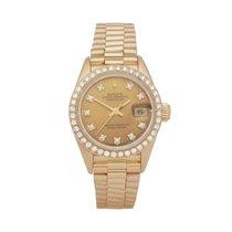 Rolex Lady-Datejust Or jaune 26mm