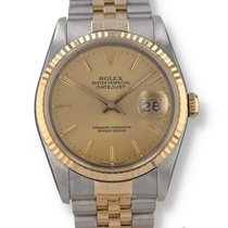 Rolex 16233 Gold/Steel 1987 Datejust 36mm pre-owned United States of America, New Hampshire, Nashua