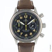 Omega Dynamic Chronograph Çelik 38mm Siyah Arap rakamları