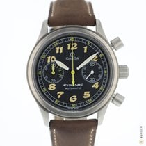 Omega Dynamic Chronograph Acier 38mm Noir Arabes