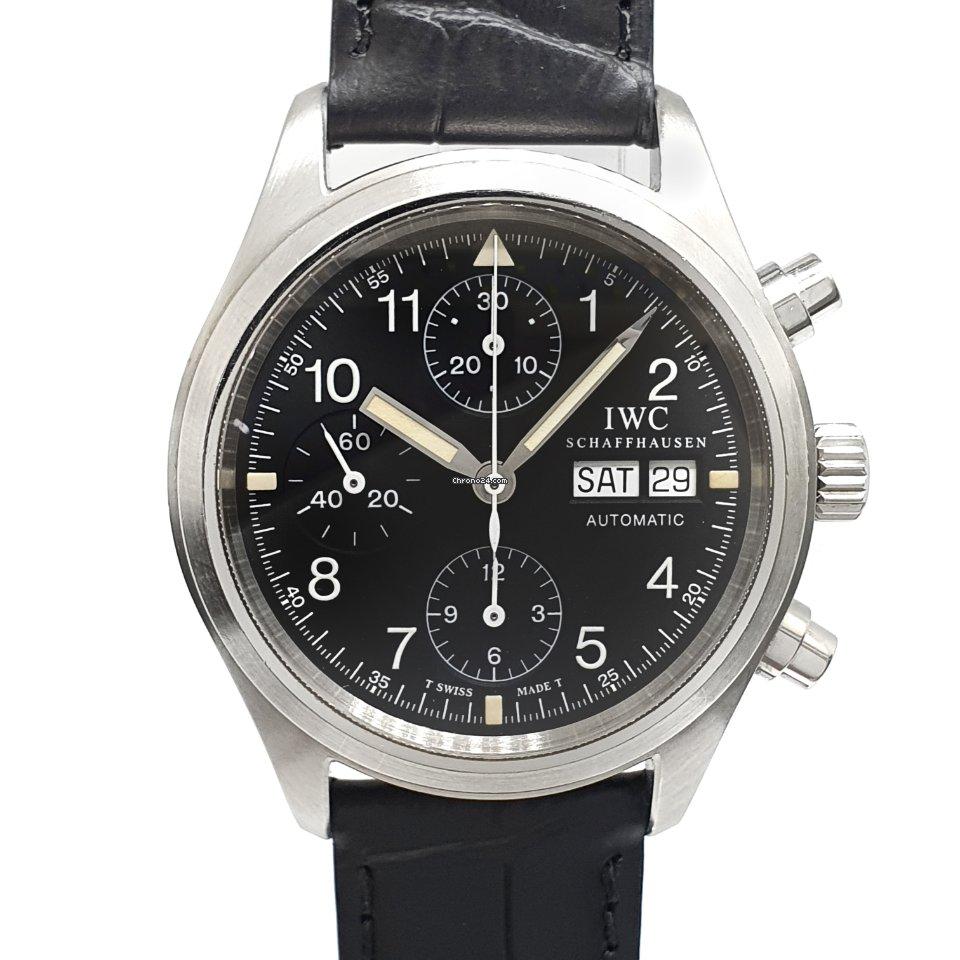 IWC 파일럿 크로노그래프 IW3706 Fliegerchronograph 1997 중고시계