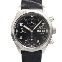 IWC Pilot Chronograph IW3706 Very good Steel 39mm Automatic Singapore, Singapore
