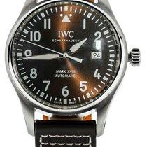 IWC Pilot Mark Steel 40mm Brown United States of America, Illinois, BUFFALO GROVE