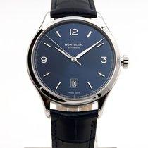 Montblanc Heritage Chronométrie Steel 40mm Blue Arabic numerals