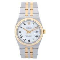 Rolex Datejust Oysterquartz Золото/Cталь 35mm Белый Римские