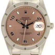 Rolex Oyster Perpetual Date Acier 34mm Arabes