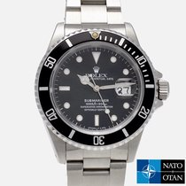Rolex Submariner Date Steel 40mm No numerals