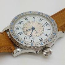Longines Lindbergh Hour Angle Steel 47mm White