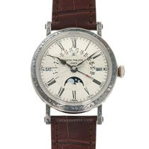 Patek Philippe Perpetual Calendar White gold 38mm Silver United States of America, California, Beverly Hills