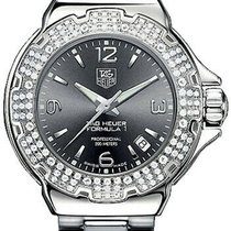 TAG Heuer Formula 1 Lady pre-owned 37mm Date Steel