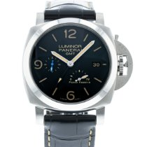 Panerai PAM 1321 Steel 2010 Luminor 1950 3 Days GMT Power Reserve Automatic 44mm pre-owned United States of America, Georgia, Atlanta