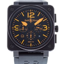 Bell & Ross BR 01-94 Chronographe Steel 46mm Black United States of America, Georgia, Atlanta