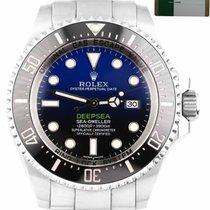 Rolex Steel Automatic 44mm pre-owned Sea-Dweller Deepsea