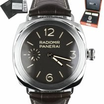 Panerai new Manual winding Luminous numerals Luminous hands Chronometer Luminous indices 47mm Platinum