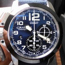 Graham Chronofighter Oversize 46mm Blue United States of America, North Carolina, Winston Salem