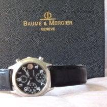 Baume & Mercier 6103 Stahl 1990 36mm gebraucht Deutschland, Lemgo