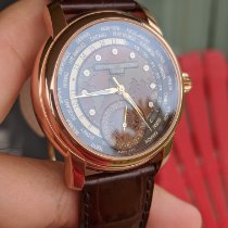 Frederique Constant Manufacture Worldtimer Steel Brown United States of America, Indiana, Indianapolis