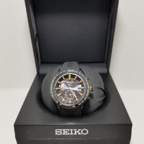 Seiko Astron GPS Solar Steel Black United States of America, New York, New York
