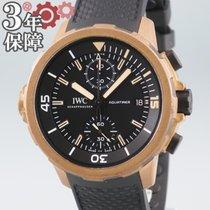 IWC Aquatimer Chronograph Бронза 44mm Чёрный
