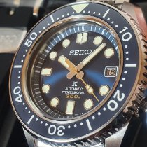 Seiko Marinemaster Acero 44,3mm Azul Sin cifras