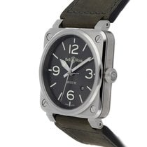Bell & Ross BR 03-92 Steel BR0392-GC3-ST/SCA 2020 new