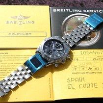 Breitling Acero Automático Gris Sin cifras 44mm usados Chronomat Evolution