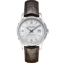 Hamilton Jazzmaster Viewmatic Steel 40mm Silver Arabic numerals United States of America, Massachusetts, Florence