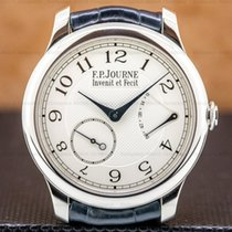 F.P.Journe Souveraine Platinum 40mm Silver Arabic numerals United States of America, Massachusetts, Boston