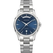 Hamilton Jazzmaster Day Date Auto Steel 40mm Blue No numerals United States of America, Massachusetts, Florence