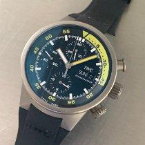IWC Aquatimer Chronograph Титан 42mm Чёрный Без цифр