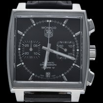 TAG Heuer Monaco Calibre 12 CAW2110 2015 pre-owned