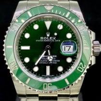 Rolex Submariner Date Zeljezo 40mm Zelen Bez brojeva