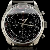 Breitling Transocean Unitime Pilot MB0510 Very good Steel 46mm Automatic