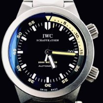IWC Aquatimer Automatic 2000 Titane 42mm Noir Sans chiffres